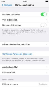 Apple iPhone 6s Plus - Internet et roaming de données - Configuration manuelle - Étape 4