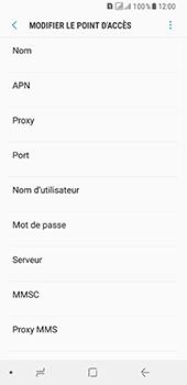 Samsung Galaxy A8 (2018) - MMS - Configuration manuelle - Étape 9