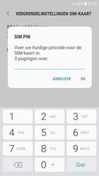 Samsung Galaxy J5 (2017) (SM-J530F) - Beveiliging en ouderlijk toezicht - Hoe wijzig ik mijn SIM PIN-code - Stap 8