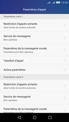 Huawei Y6 - Messagerie vocale - configuration manuelle - Étape 6