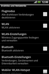 HTC Explorer - WLAN - Manuelle Konfiguration - 5 / 10