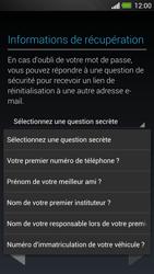 HTC One - Applications - Créer un compte - Étape 13