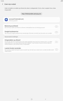 Samsung galaxy-tab-a-10-5-sm-t595-android-pie - Beveiliging en ouderlijk toezicht - Zoek mijn mobiel inschakelen - Stap 6