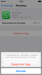Apple iPhone 5s - iOS 8 - Applications - Comment désinstaller une application - Étape 8
