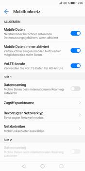 Huawei Mate 10 Lite - Ausland - Im Ausland surfen – Datenroaming - Schritt 7