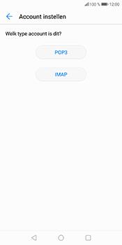 Huawei P Smart (Model FIG-LX1) - E-mail - Account instellen (POP3 zonder SMTP-verificatie) - Stap 8