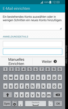 Samsung Galaxy Note Edge - E-Mail - Manuelle Konfiguration - Schritt 6