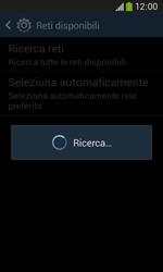 Samsung Galaxy Ace III - Rete - Selezione manuale della rete - Fase 7
