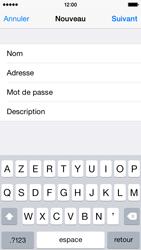 Apple iPhone 5s (iOS 8) - E-mails - Ajouter ou modifier un compte e-mail - Étape 9