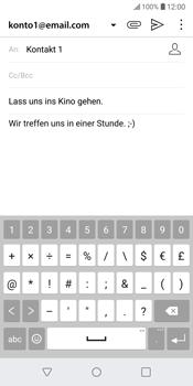 LG G6 - E-Mail - E-Mail versenden - 11 / 20