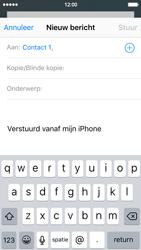 Apple iPhone 5c (iOS 9) - e-mail - hoe te versturen - stap 6