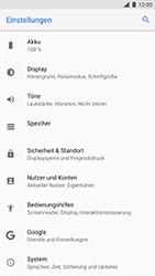 Nokia 8 - Gerät - Zurücksetzen auf die Werkseinstellungen - Schritt 4
