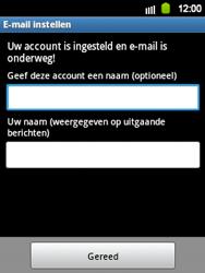 Samsung S5360 Galaxy Y - E-mail - Handmatig instellen - Stap 13