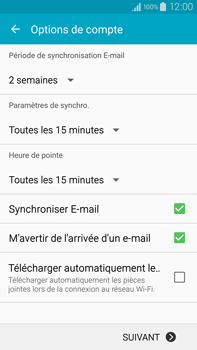 Samsung Galaxy Note 4 - E-mail - 032b. Email wizard - Yahoo - Étape 8
