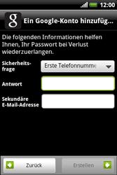HTC Explorer - Apps - Konto anlegen und einrichten - 9 / 19