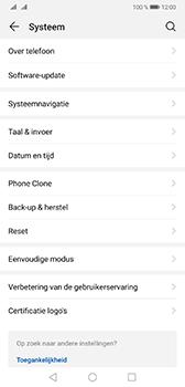 Huawei Mate 20 - Data - maak een back-up met je account - Stap 4