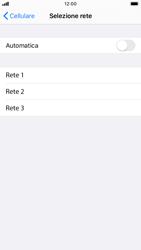 Apple iPhone 7 - iOS 13 - Rete - Selezione manuale della rete - Fase 6