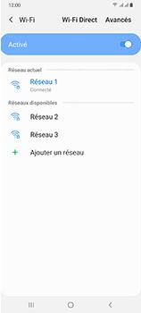 Samsung Galaxy A70 - Internet et connexion - Accéder au réseau Wi-Fi - Étape 9