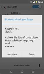 Sony Xperia E1 - Bluetooth - Geräte koppeln - Schritt 9
