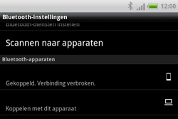 HTC A810e ChaCha - Bluetooth - koppelen met ander apparaat - Stap 12