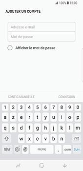 Samsung Galaxy S8 - E-mail - configuration manuelle - Étape 7