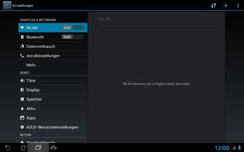 Asus Padfone 2 - Netzwerk - Netzwerkeinstellungen ändern - Schritt 5