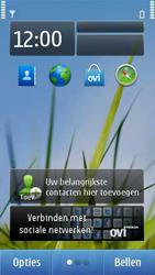 Nokia C7-00 - Voicemail - handmatig instellen - Stap 1