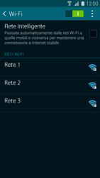 Samsung Galaxy S 5 - WiFi - Configurazione WiFi - Fase 6