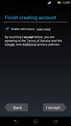 Sony Xperia T - Applications - Setting up the application store - Step 11