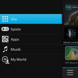BlackBerry Q10 - Apps - Herunterladen - 4 / 21