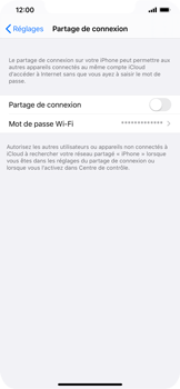 Apple iPhone 11 Pro Max - WiFi - Comment activer un point d'accès WiFi - Étape 6