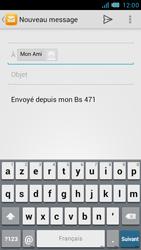 Bouygues Telecom Bs 471 - E-mails - Envoyer un e-mail - Étape 7