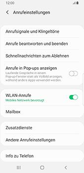 Samsung Galaxy S9 - Android Pie - Anrufe - Rufumleitungen setzen und löschen - Schritt 7