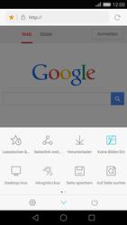 Huawei Ascend P8 - Internet und Datenroaming - Verwenden des Internets - Schritt 8