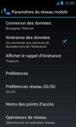 Bouygues Telecom Bs 402 - Internet et connexion - Désactiver la connexion Internet - Étape 6