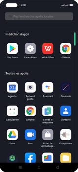 Oppo Reno 4 - Contact, Appels, SMS/MMS - Ajouter un contact - Étape 3