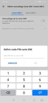 Huawei P30 - Prise en main - Comment activer un code SIM - Étape 9
