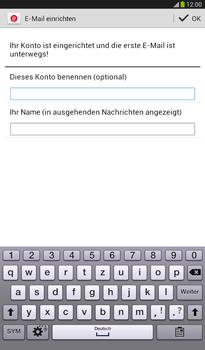 Samsung Galaxy Tab 3 7-0 - E-Mail - Konto einrichten - 0 / 0