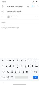 OnePlus 7T Pro - E-mails - Envoyer un e-mail - Étape 7