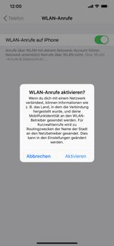 Apple iPhone XR - WiFi - WiFi Calling aktivieren - Schritt 7