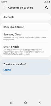 Samsung galaxy-a6-sm-a600fn-ds-android-pie - Instellingen aanpassen - Back-up maken in je account - Stap 5