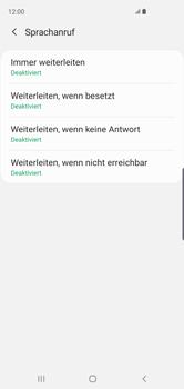 Samsung Galaxy S10 - Anrufe - Rufumleitungen setzen und löschen - 11 / 15