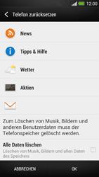 HTC One - Fehlerbehebung - Handy zurücksetzen - 8 / 11