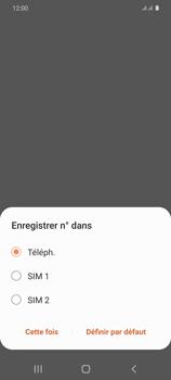 Samsung Galaxy S20 - Contact, Appels, SMS/MMS - Ajouter un contact - Étape 6