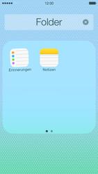 Apple iPhone 5c - Startanleitung - Personalisieren der Startseite - Schritt 7