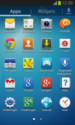 Samsung Galaxy Core (I8260) - Resetten - Fabrieksinstellingen terugzetten - Stap 3