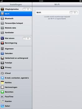Apple iPad mini - Internet - aan- of uitzetten - Stap 3