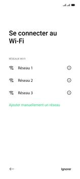 Oppo Reno 4Z - Premiers pas - Configuration de l