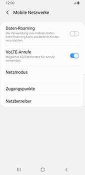 Samsung Galaxy S9 - Android Pie - Ausland - Im Ausland surfen – Datenroaming - Schritt 8
