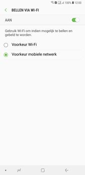 Samsung Galaxy A7 (2018) - Bellen - bellen via wifi (VoWifi) - Stap 9
